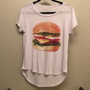 Hamburger graphic tee